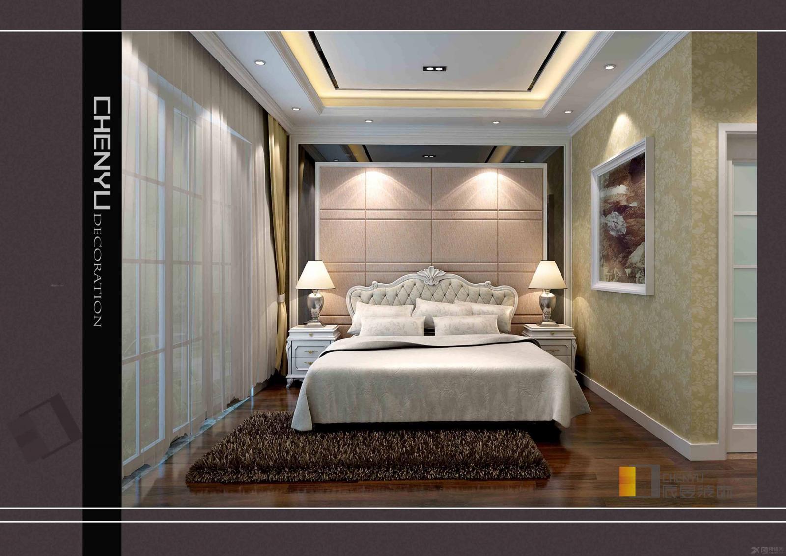复式楼欧式风格主卧室图片