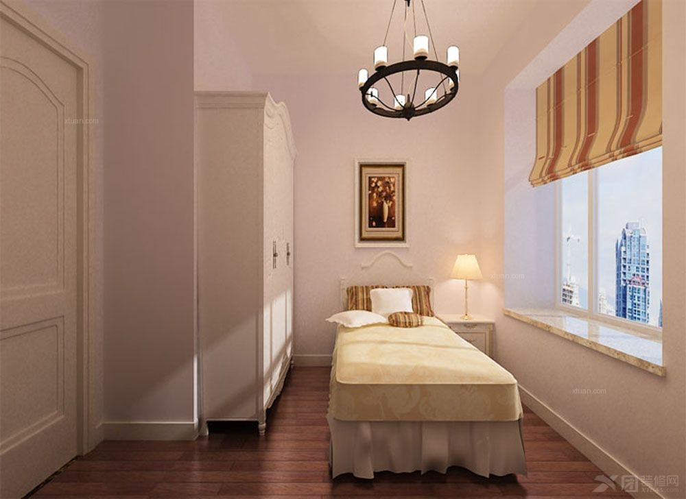 两室两厅简约风格卧室