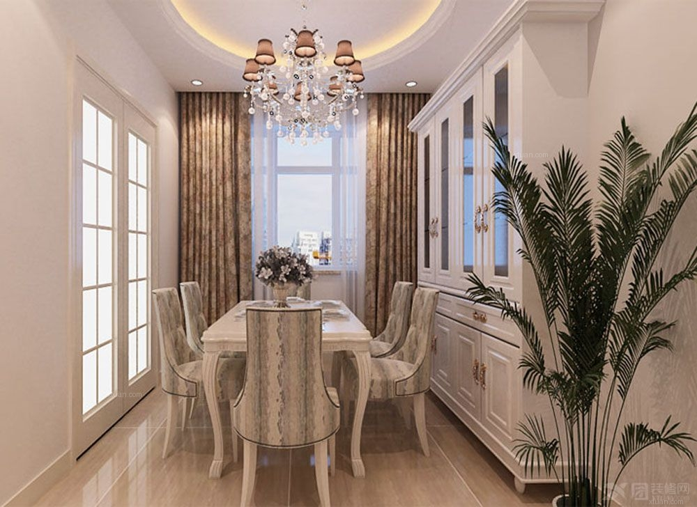 两室两厅简约风格餐厅