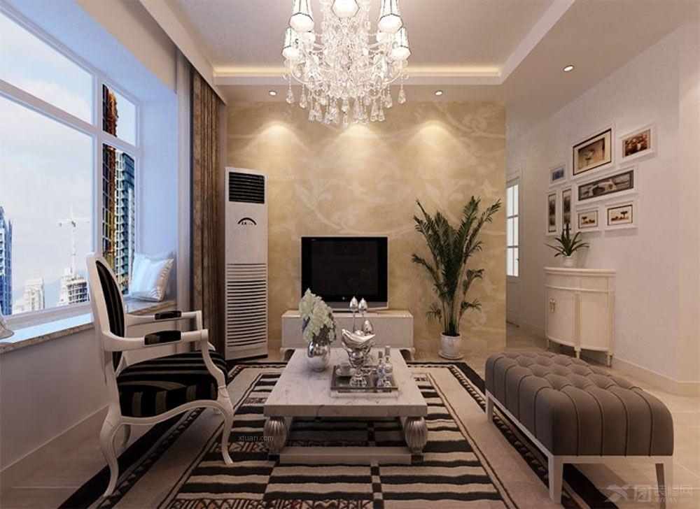 两室两厅简约风格客厅