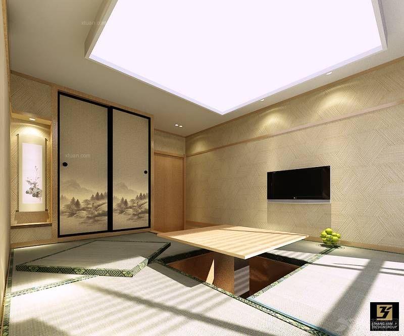 复式楼中式风格休闲区