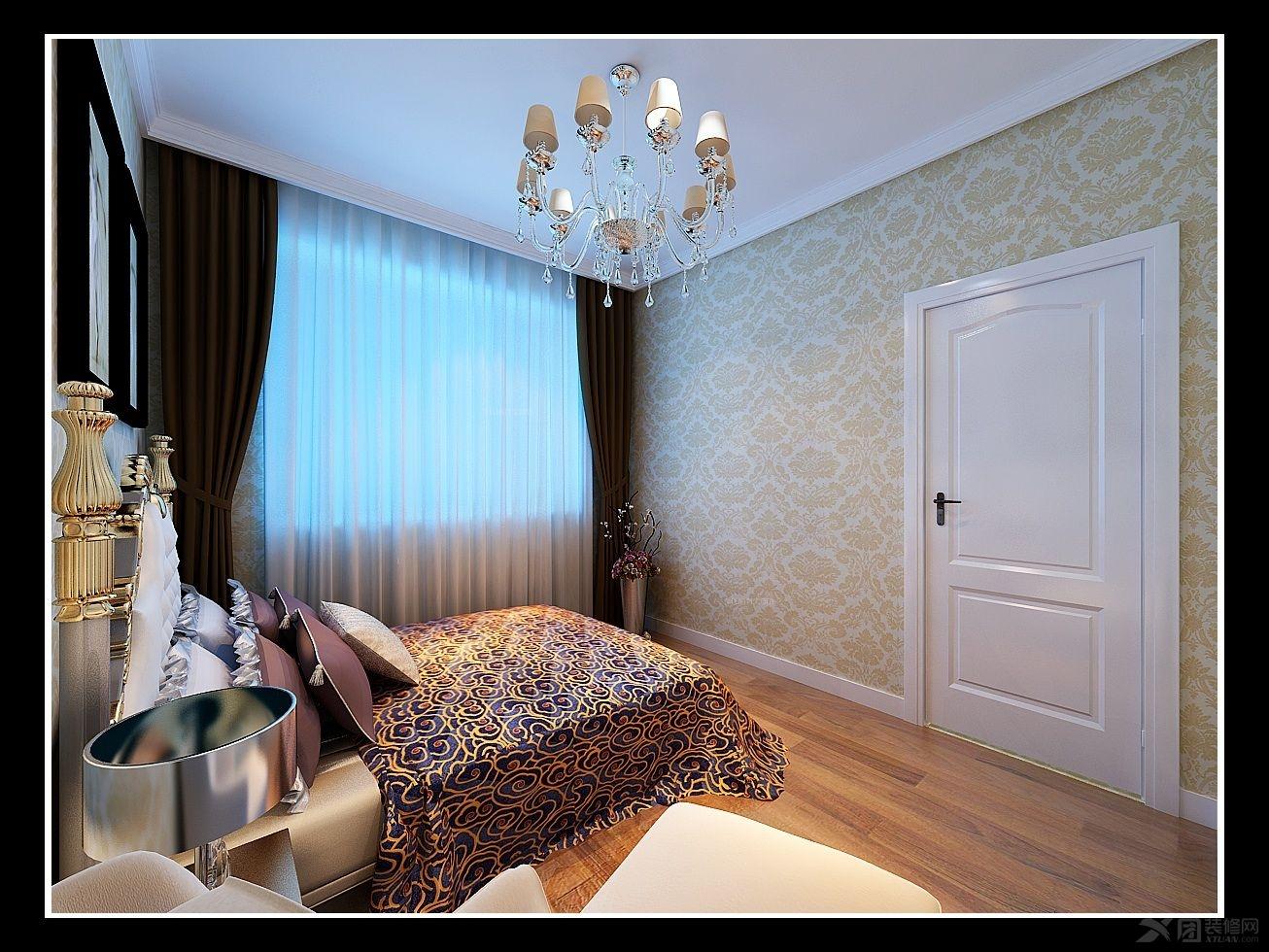 卢浮宫馆-简欧风格-114平