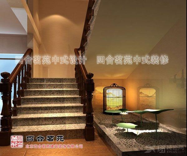 武夷情缘中式茶会所设计