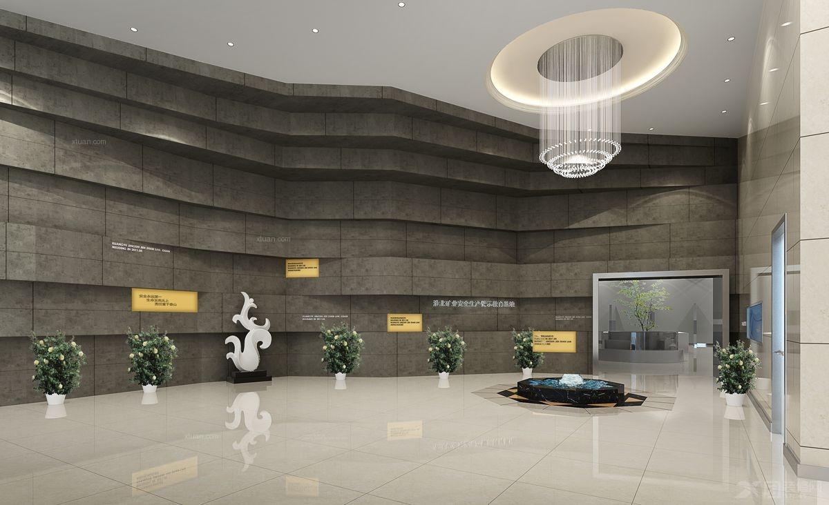 2012中国建筑装饰学会金奖--淮北矿业展览馆