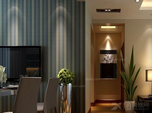 中油呼炼三居室现代简约风格——鼎盛创典装饰