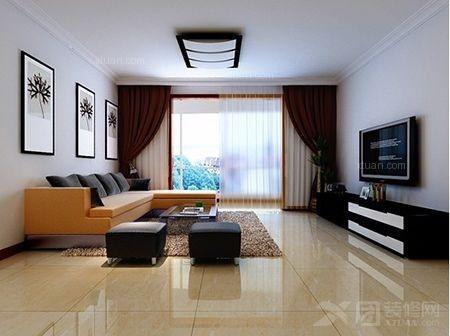 老房现代简约客厅