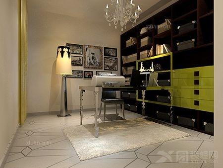 两居室简欧风格书房
