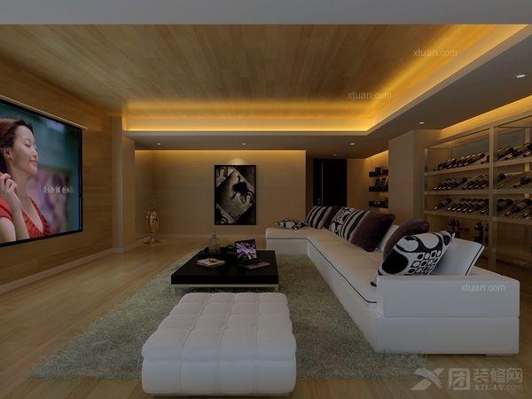 清水木华300平米现代风格20万