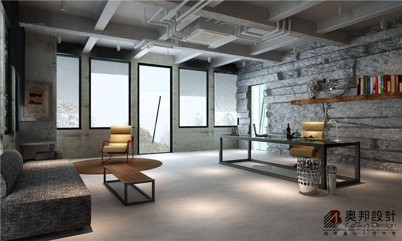 久时房产办公室装修——奥邦设计总监沈丽娜作品