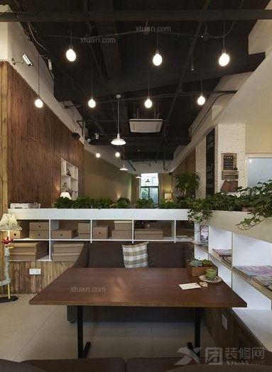 嘉融联盟亲子咖啡厅餐桌装修案例效果图