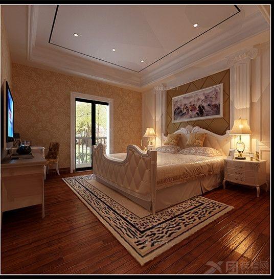 别墅欧式风格主卧室