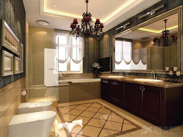 武汉尚层别墅装饰中国院子新古典变风格