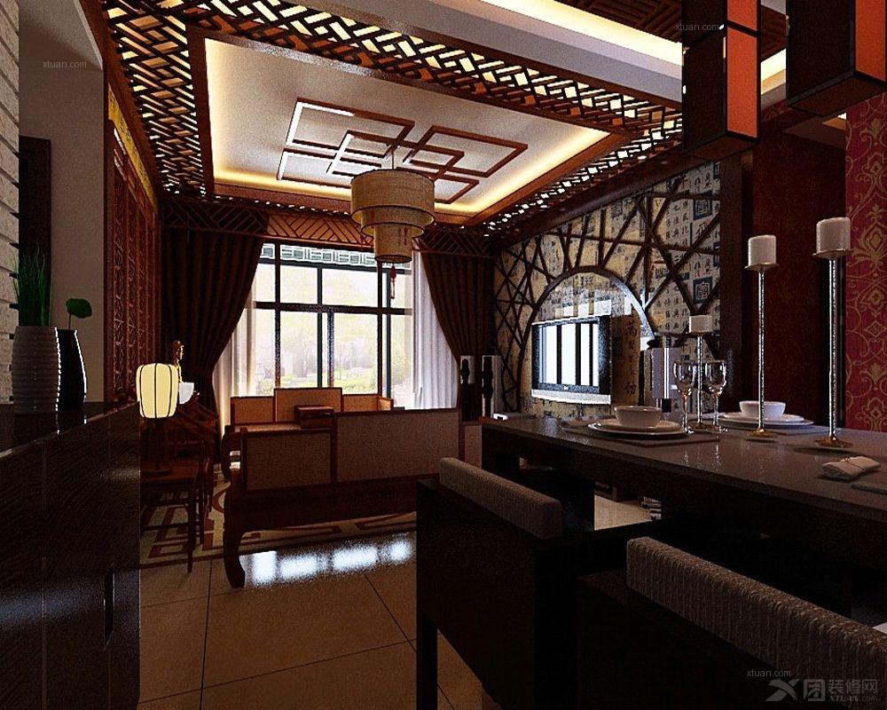 中式风格客厅图片