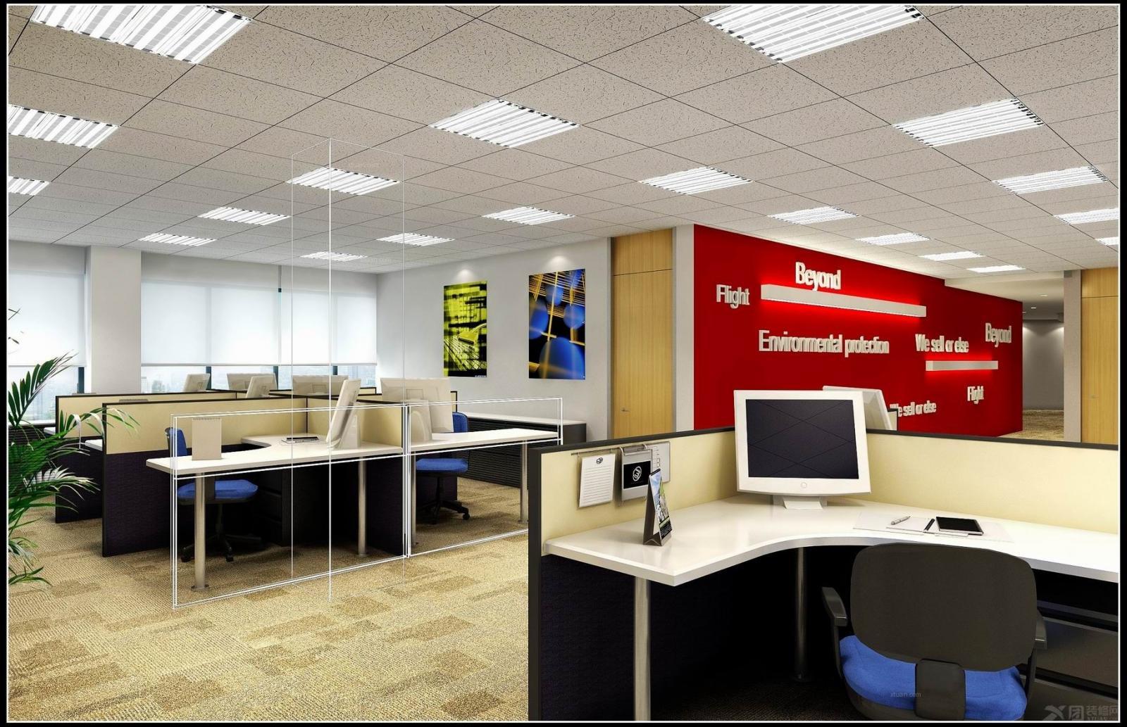 宝能中心办公室设计装修效果图
