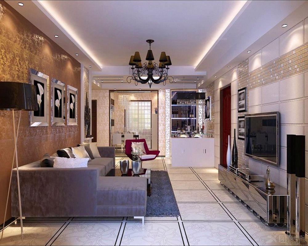 两室两厅雅致主义客厅
