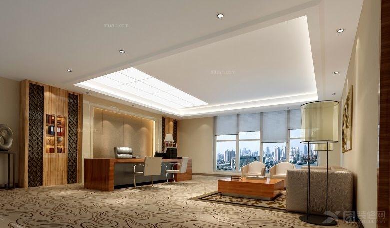 北京中信建投办公室内装工程