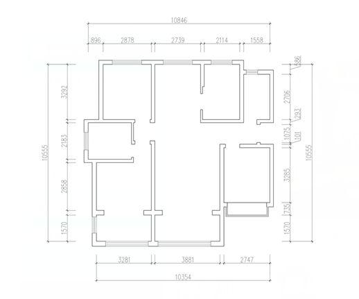 凯景广场143平三居室欧式装修|青岛实创装饰