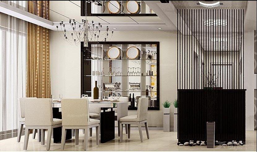 两居室现代简约餐厅