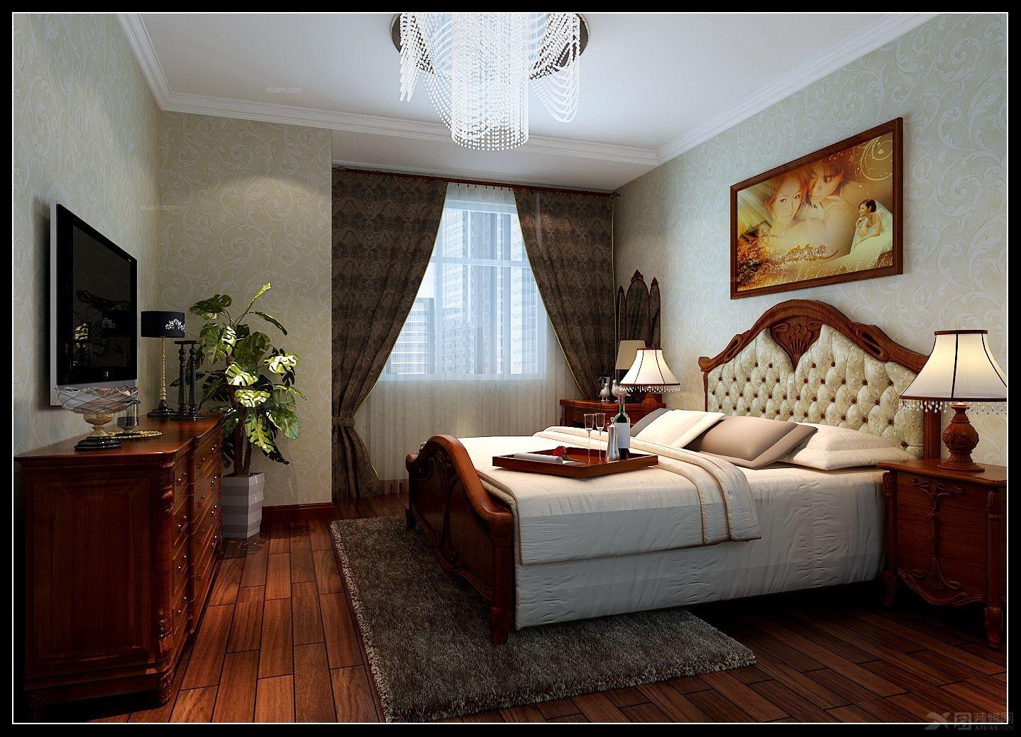 跃层欧式风格卧室