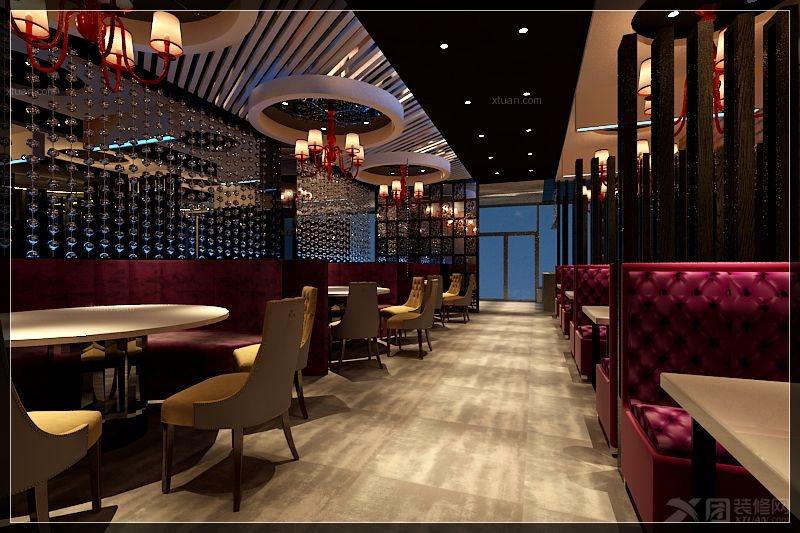 餐饮空间装修效果图