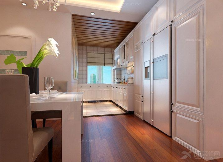 维多利三居室简欧风格——鼎盛创典装饰