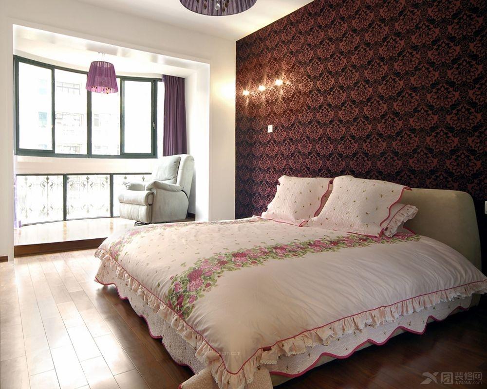 三室两厅法式风格卧室