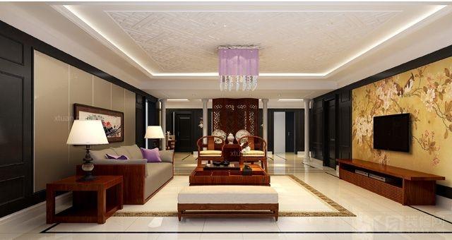 旭辉御府240平米中式风格北京元洲装饰