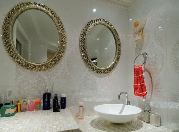 两居室新古典洗手间