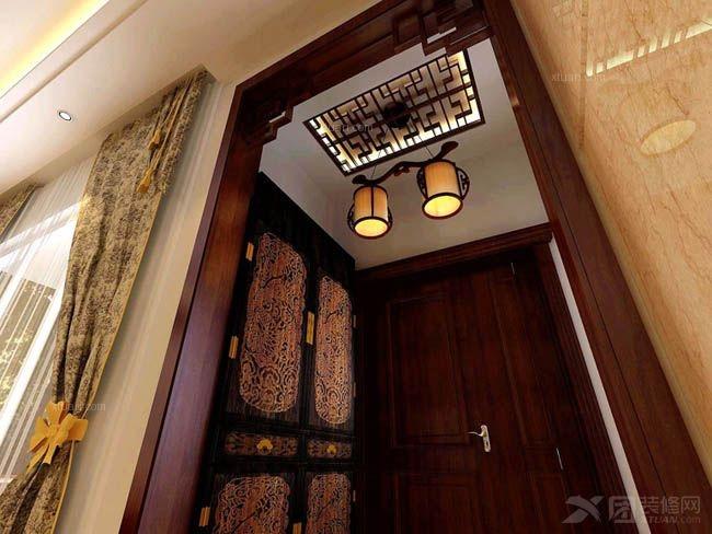 别墅古典风格玄关