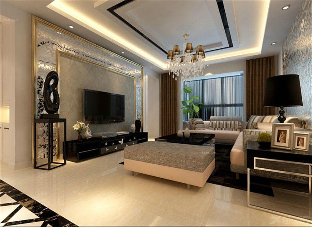 三室两厅现代简约客厅
