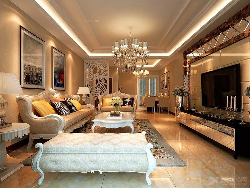 简欧风格装仹�b9��9f_三室两厅简欧风格