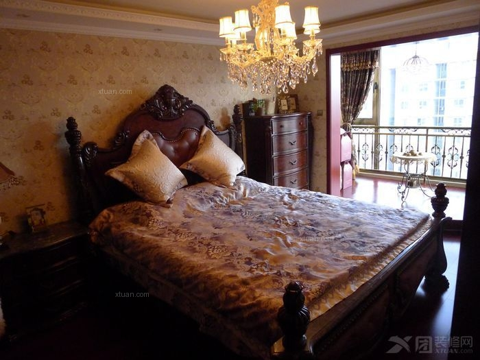 三居室北欧风格卧室