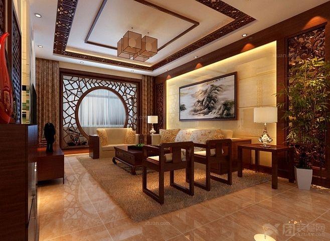 中国风与清新典雅结合打造中式大宅