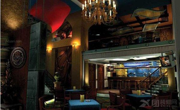 现代风格酒吧