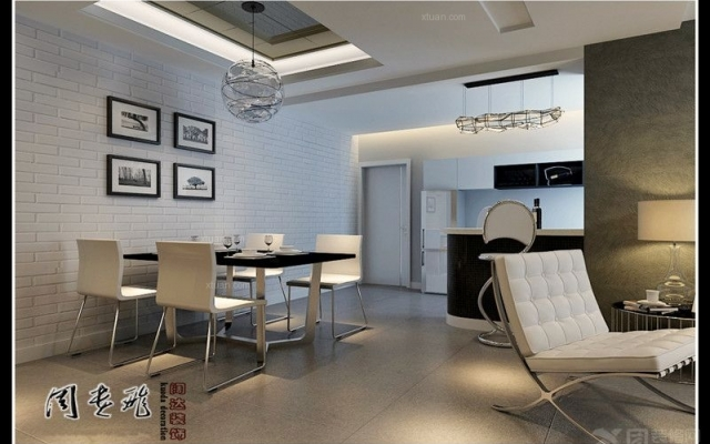 未名城三居室F户型109平米现代前卫7.8万