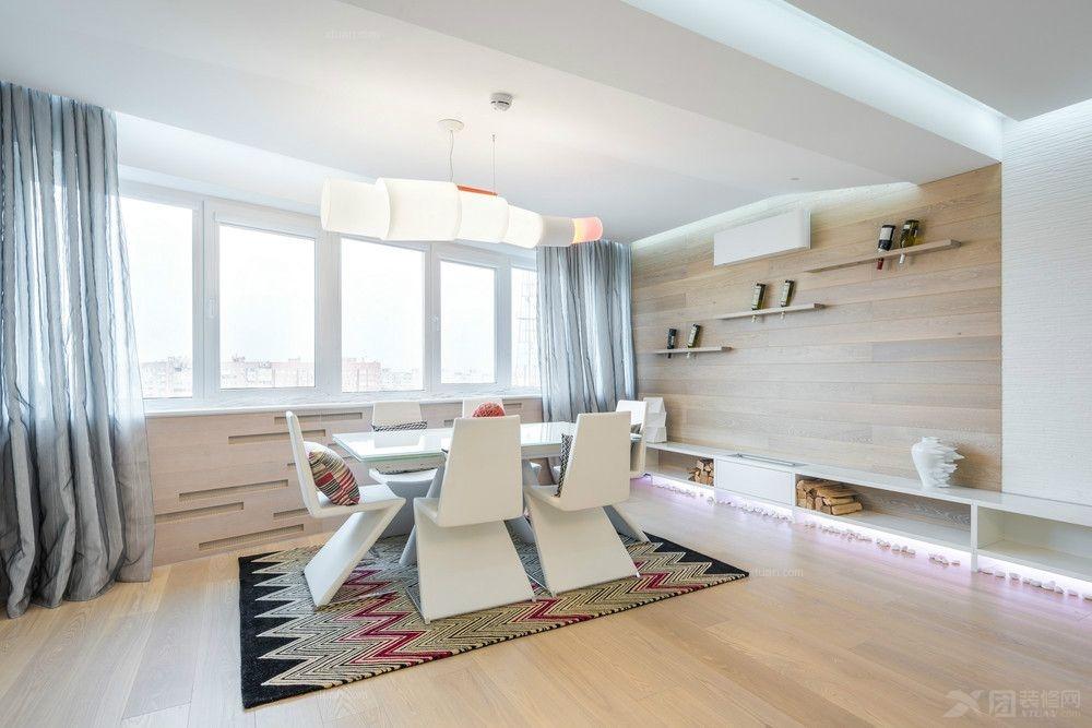 三居室中式风格阳台