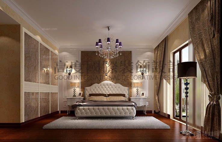 白领公寓中式风格主卧室