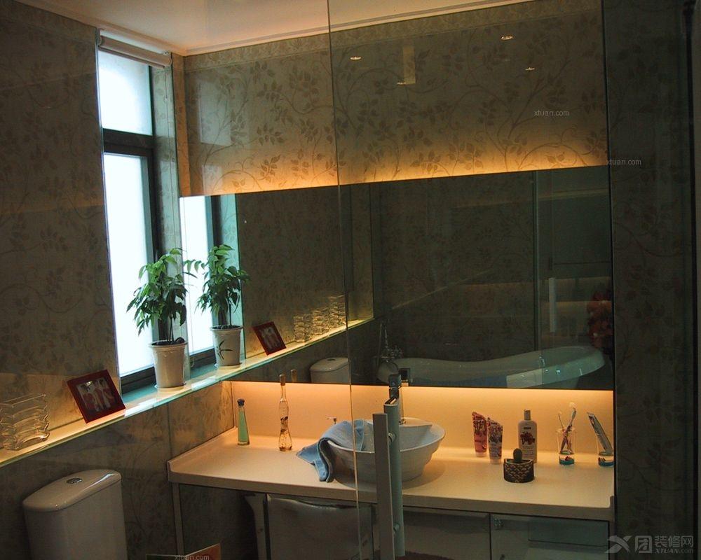 两室两厅现代风格卫生间