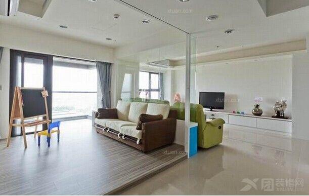 简约地中海风公寓