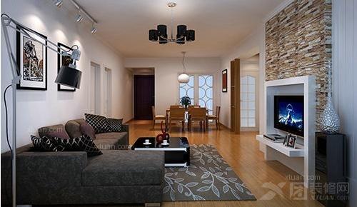 小户型现代简约客厅