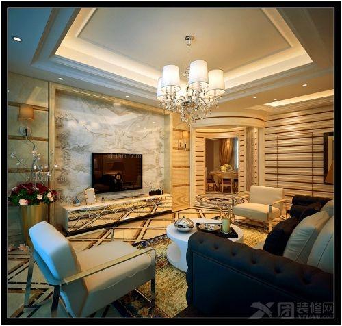 大户型现代风格客厅