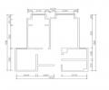 石家庄实创装饰【维多利亚装修】B1户型96平米二居室装修