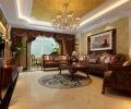城投瀚城装修设计-19万打造168平大气奢华欧式风格大宅