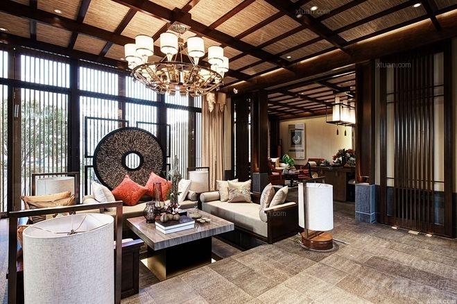 别墅古典风格_丽江玉龙雪山脚下的中式别墅设计圣