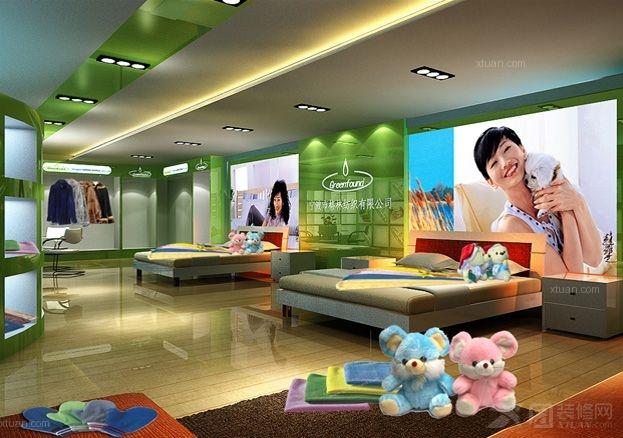 慈溪格林纺织品商业展示厅设计施工公司