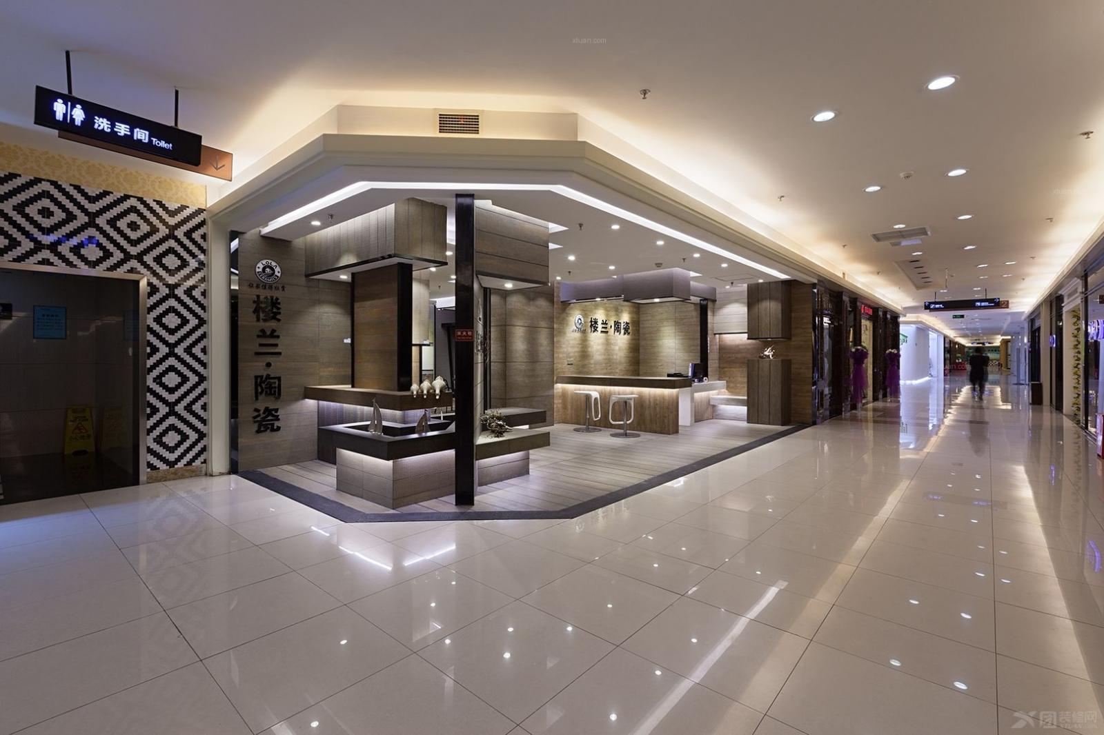 成都私享高端瓷砖商铺设计—楼兰陶瓷富森美家居南门店
