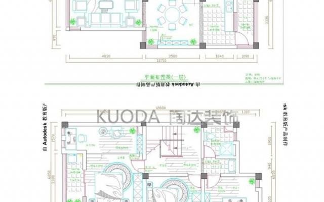 盘龙区野鸭湖别墅220平方米现代风格中户型15.2万元