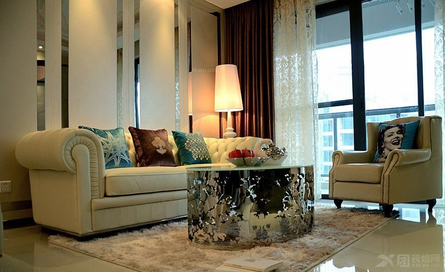 新古典风格  两居室