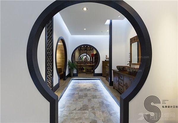 成都私享高端卫浴商铺设计—木本源红星美凯龙旗舰展厅