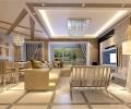 阳光尚城效果图 130平三居室现代简约风格设计